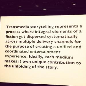 La définition du transmédia