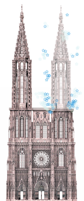 Cathedrale Strasbourg seconde tour